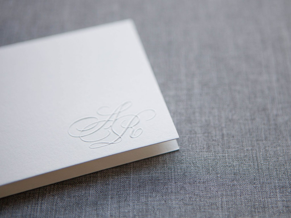 The Paper Guppy Custom Wedding Invitation